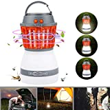 Lampe Anti Moustique LED UV Bawoo Lampe Camping 2 En 1...