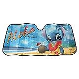 Plasticolor 003728R01 Disney's Lilo and Stitch Accordion Sun Shade Universal Bubble