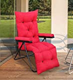 Spacecrafts Recliner Folding Easy Chair for Home Relax (Red)