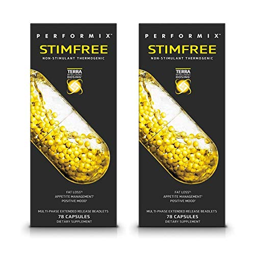 Performix STIMFREE Non-Stimulant Thermogenic, Fat Loss & Appetite Management, 78 Capsules (2 Pack) 1