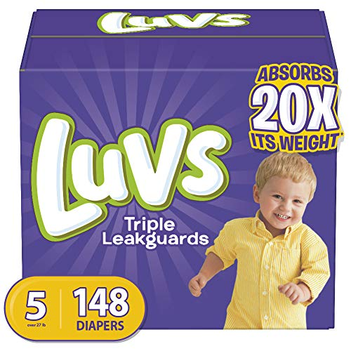 Luvs Triple Leakguards Disposable Baby Diapers
