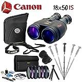Canon 18x50 is Image Stabilized Binocular Advanced Bundle