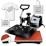 Super Deal PRO 12' X 10' Digital Swing Away Heat Press Heat Transfer...