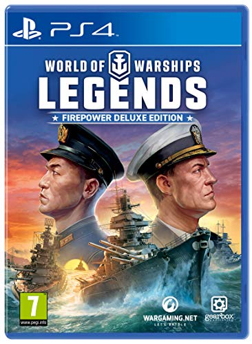 Gearbox - World of Warships: Legends - Firepower Deluxe Edition /PS4 (1 GAMES)