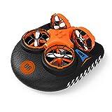 EACHINE Mini Bateau télécommande et Drone pour Enfant et bébé E016F...