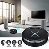 Misszhang-US Auto-Induction Rechargeable Suction Sweeping Robot Household Vacuum Cleaner Black