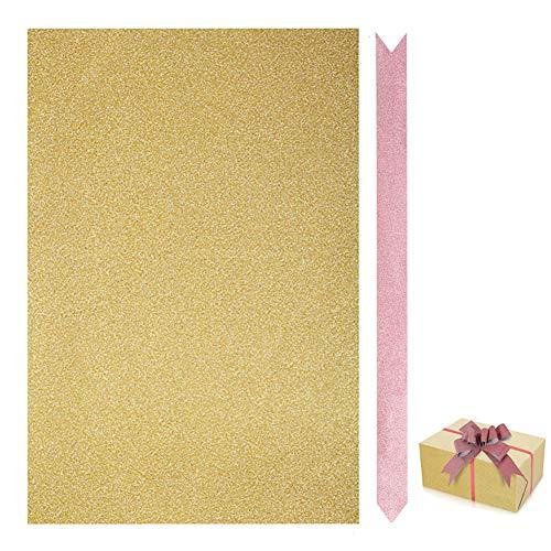 IUQY Packpapier,Weihnachts-Geschenkpapier Dekorpapier Artware Verpackung Paket Papierweihnachtspackpapier (70 x 50 cm)