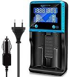 18650 Chargeur Batterie Universel, Keenstone Chargeur de Piles Intelligent avec...