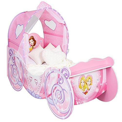 Worlds Apart HelloHome Passeggino per Bambine, Tema: Principesse Disney, Legno, Pink, 160x87.5x136 cm