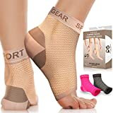 Physix Gear Plantar Fasciitis Socks with Arch Support for Men & Women - Best 24/7 Compression Foot Sleeve for...