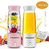 Mélangeur Personnel, Portable Blender Mini Mixeur pour Smoothies et Milk-shakes...