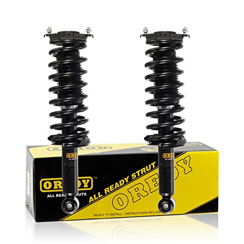 OREDY Rear Pair Complete Shock Strut Coil Springs Assembly Kit 15870 341443 Compatible with Outback AWD 2000 2001 2002 2003 2004