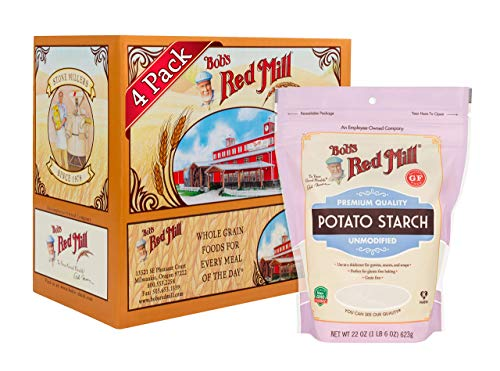 Bob's Red Mill Resealable Gluten Free Potato Starch, 22 Oz (4 Pack)