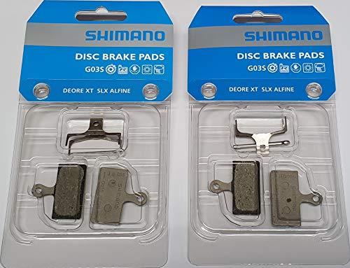 Tuning Pedals Shimano Bremsbelag G03S, 2er Set für vorn und hinten, Y-8WW98030