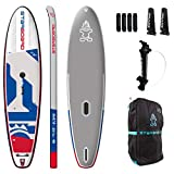 Starboard 2020 SUP Windsurfing 11'2' x 32' x 6' Blend Deluxe Inflatable SUP Paddle Board