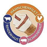 8in1 Triple Flavour Kauknochen XS 7 Stück umwickelt mit Hähnchenfilet, 2er Pack (2 x 98 g) - 2