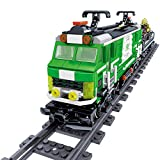 FZC-YM Juego de vías de Tren Moc de 890 Piezas, Equipo Armado, Modelo de Tren de Transporte, Juguete para niños Adultos, Juego de Bloques de construcción de Trenes de la Ciudad