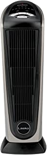 Lasko 751320 Ceramic Tower Space Heater with Remote Control – Features Built-in..