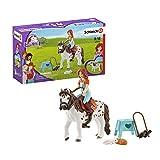 SCHLEICH- Playset Horse Club Mia & Spotty, 42518, Multicolore