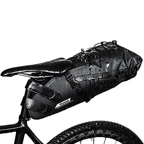 Selighting Impermeable Bicicleta Alforja Asiento Trasero Carrier...