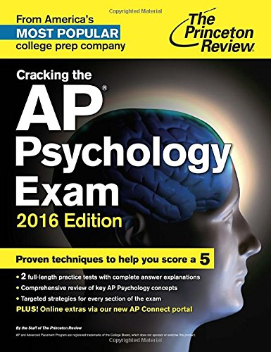 Cracking the AP Psychology Exam, 2016 Edition (College Test...