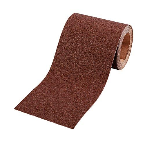 kwb Schleifpapier-Rolle – für Metall und Holz, K-120, 93 mm x 5 m, Korund
