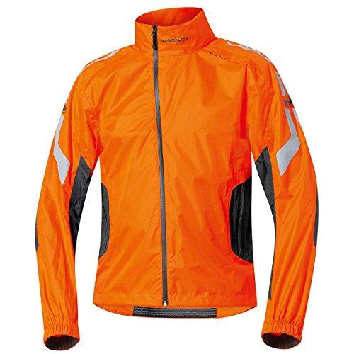 Held Wet Tour - Regenjacke, Farbe schwarz-orange, Größe L