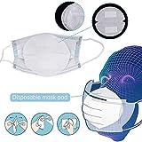 Masque Jetable Masque Bouche 50pcs Joint Filtre Coton de Base Isolation...