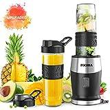 Blender Smoothies, FOCHEA Mixeur Blender 500W, 2 Bouteilles Portables de...