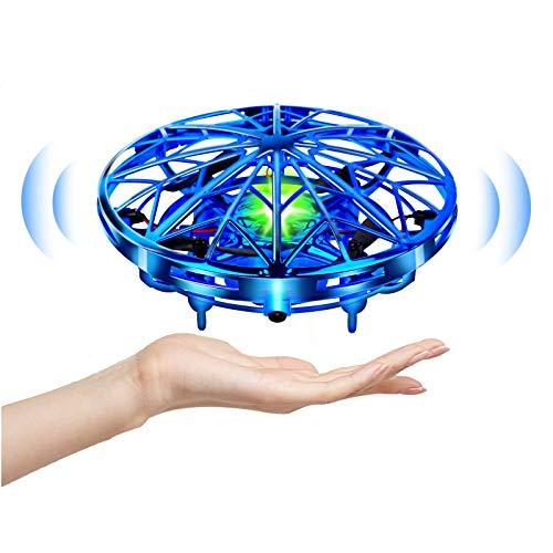 UTTORA Mini UFO Drone Giocattoli Educativi per Adulti Bambini Sensore a Infrarossi Intelligente...