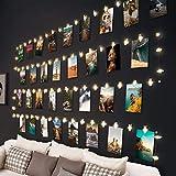 Hepside Guirlande Lumineuse Photo, 100 LED 10M Guirlande Photo Avec 60...