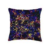 Kristalin Davis Cosmic 1 Throw Pillow, 16x16, Multicolor
