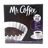 Mr. Coffee 8-12 Cup Coffee Filters, Box, Assorted, 100 Count