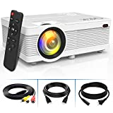 4500Lumens LCD Projector- Full HD 1080P Supported, Portable Mini Projector Compatible with...