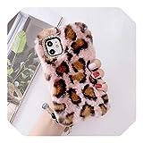 For iPhone 12ファッションぬいぐるみファーファー電話ケースに対応し、For iPhone 12 11 Pro ……