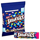 Colourful milk chocolate sweets in a crisp sugar shell Coloured by nature - from food and plant extracts only Smarties are the original colourful confectionery Country Of Origin: United Kingdom