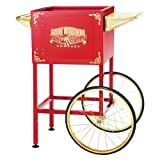 6400 Red Replacement Cart for Larger Roosevelt Style Great Northern Popcorn Machines