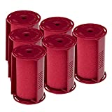 Caruso Professional Jumbo Molecular Replacement Steam Hair Rollers with Shields, 6-Pack, 1-3/4' Inches