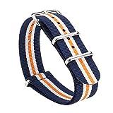 Gemony WB18111 - Bracelet pour montre, Nylon, couleur: Marron