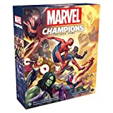 Marvel Champions The Card Game (Base Game)   Cooperative Game   Strategy Card Game for Adults and Teens   Ages 14+   1-4 Players   Average Playtime 45-90 Minutes   Made by Fantasy Flight Games