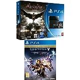 Contenu : Console PlayStation 4 - jet black + Batman Arkham Knight + Comics - pack exclusif Amazon Destiny : le roi des corrompus - édition légendaire