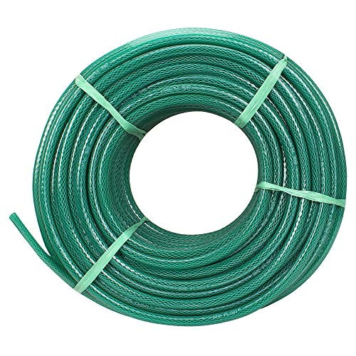 ANNA AGRO (Size : 1/2 (0.5) Inch, Length: 30 Meters, Green) 3 Layered Heavy Duty Braided Water Hose...
