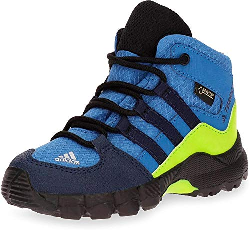 adidas Unisex-Kinder Terrex Mid GTX Trekking-& Wanderstiefel, Blau...