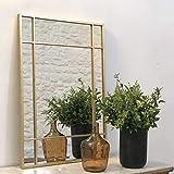DECOCLICO Miroir verrière Wallis en métal