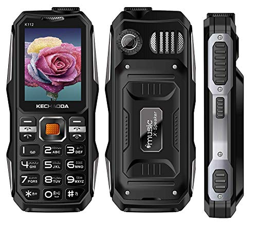 KECHAODA K112 Triple SIM Keypad Mobile Phone (Green)