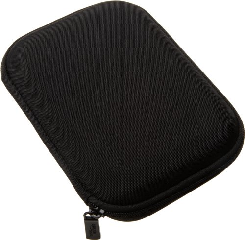AmazonBasics Hard Travel Carrying Case for 5 Inch GPS, Black
