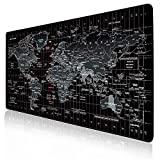 JIALONG Tapis de Souris Gaming Mouse Pad Multifonction XXL Grand sous Main...