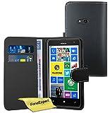 FoneExpert Nokia Lumia 625 - Etui Housse Coque en Cuir Portefeuille Wallet Case...
