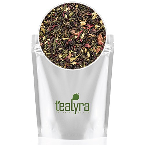 Tealyra - Fat Burner - Wellness weight-loss Tea Blend - Pu Erh Aged with Sencha Green Tea and Wu-Yi Oolong - Diet Refreshing - Natural Ingredients - Healthy - Detox Loose Leaf Tea - 220g (8-ounce) 5