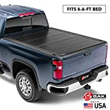 BAK BAKFlip G2 Hard Folding Truck Bed Tonneau Cover | 226121 | Fits 2014-18, 19 Limited/Legacy GM Silverado, Sierra: Limited/Legacy; 2014 1500, 15-19 ALL 6'6' Bed